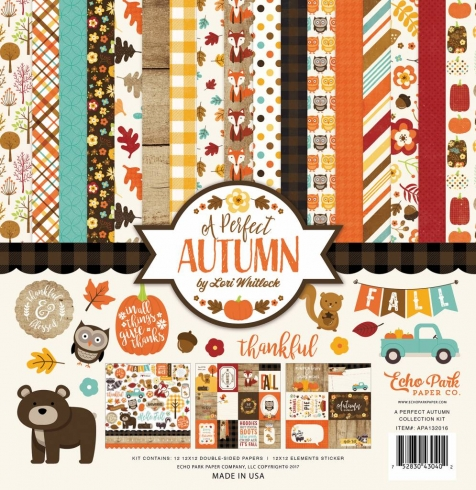 "Echo Park ""A Perfect Autumn"" 12x12"" Collection Kit"