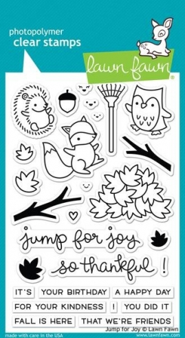 "Lawn Fawn Stempelset ""Jump For Joy"" Clear Stamp"