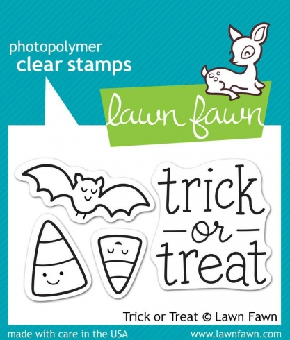 "Lawn Fawn Stempelset ""Trick or Treat"" Clear Stamp"