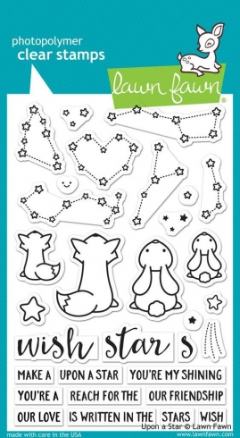 "Lawn Fawn Stempelset ""Upon A Star"" Clear Stamp"