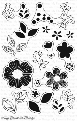 "My Favorite Things Stempelset ""Bold Blooms"" Clear Stamp"