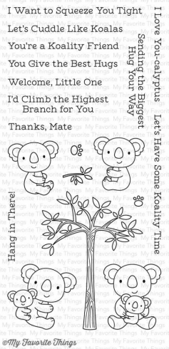 "My Favorite Things Stempelset ""Cuddly Koalas"" Clear Stamp (CS-196)"