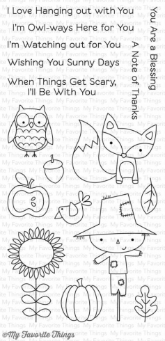 "My Favorite Things Stempelset ""Fall Friends"" Clear Stamp"