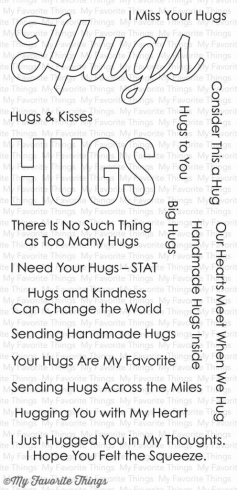 "My Favorite Things Stempelset ""Lots of Hugs"" Clear Stamp"