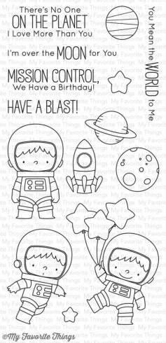 "My Favorite Things Stempelset ""Space Explorer"" Clear Stamp"