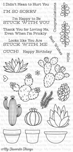 "My Favorite Things Stempelset ""Sweet Succulents"" Clear Stamp"