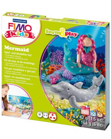 "Fimo kids Form&Play Set ""mermaid"""