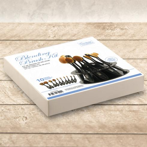 Couture Creations Blending Brush Kit with Display Stand
