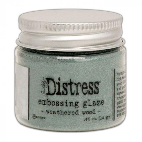 Ranger - Tim Holtz Distress Embossing Glaze Weathered wood