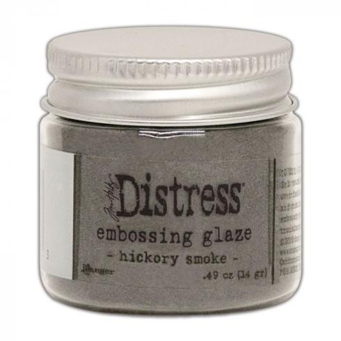Ranger - Tim Holtz Distress Embossing Glaze Hickory smoke
