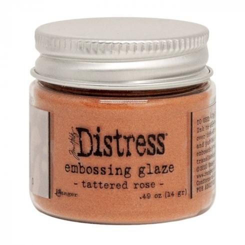 Ranger - Tim Holtz Distress Embossing Glaze Tattered rose...