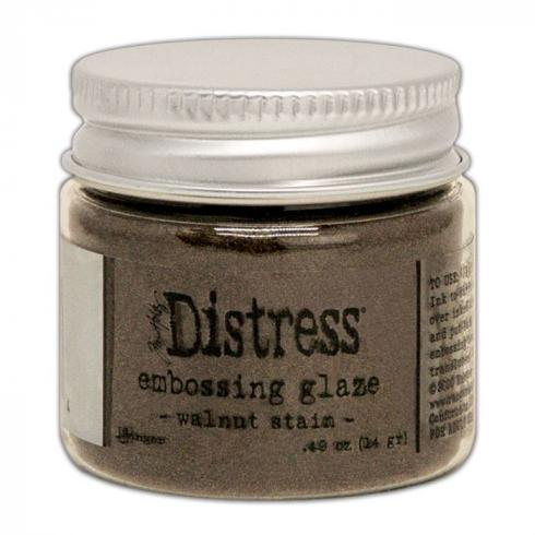 Ranger - Tim Holtz Distress Embossing Glaze Walnut stain