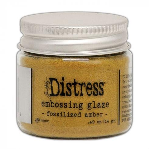 Ranger - Tim Holtz Distress Embossing Glaze Fossilized amber