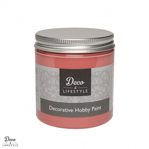 Deco & Lifestyle Shabby Chic Farbe 230ml porto red