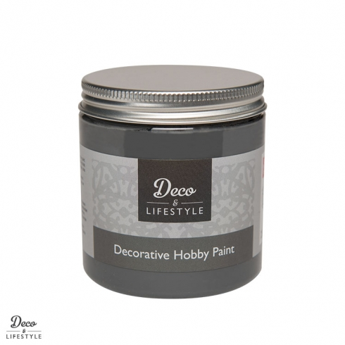 Deco & Lifestyle Shabby Chic Farbe 230ml soft black