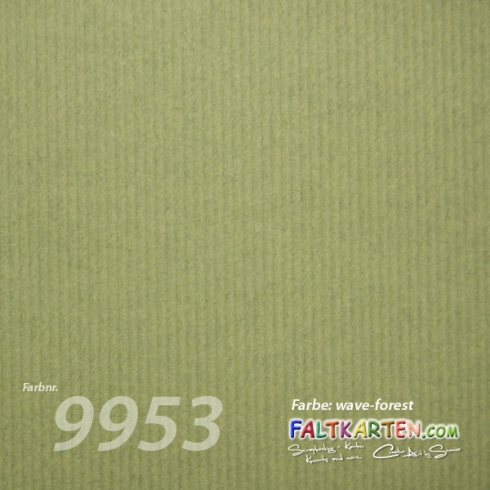 "Cardstock 12""x12"" 200g/m² (30,5 x 30,5cm) in wave-forest"