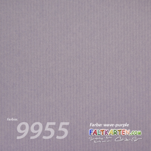"Cardstock 12""x12"" 200g/m² (30,5 x 30,5cm) in wave-purple"